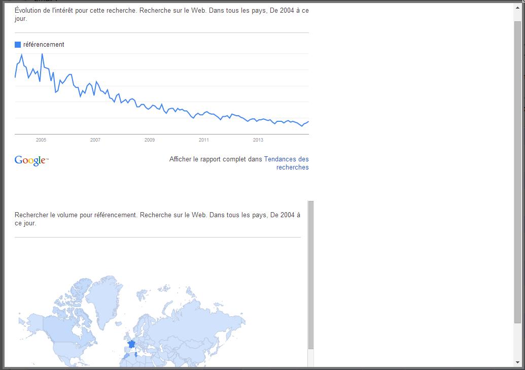 google tendance